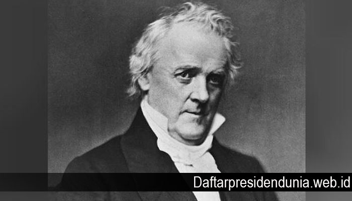 Kisah Presiden AS James Buchanan